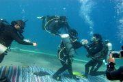 غطاس مصري يقيم تحت الماء لليوم الرابع على التوالي